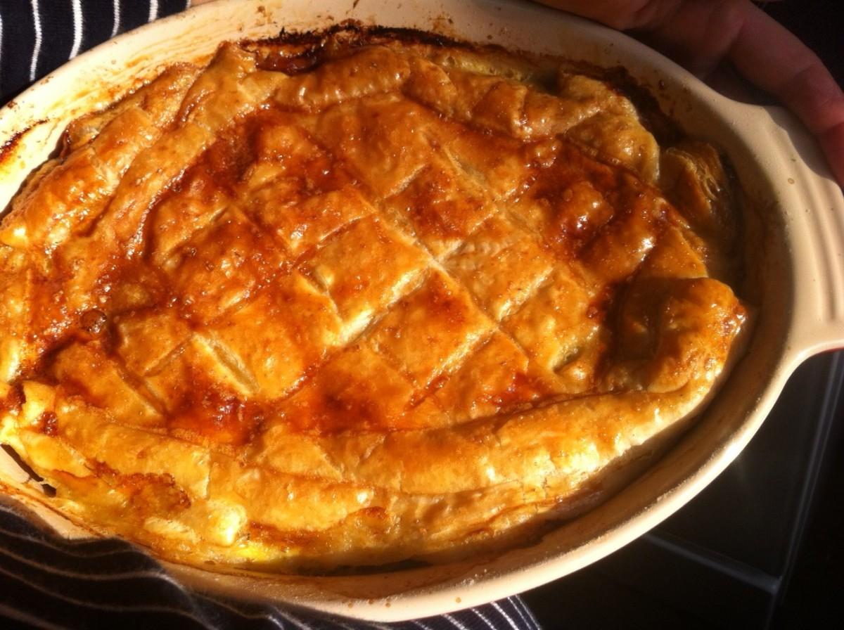 Tourte au poulet de jamie oliver hungry rachel - Recette de jamie oliver sur cuisine tv ...