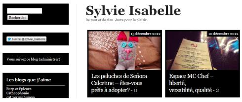 Sylvie Isabelle