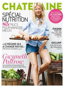 Gwyneth Paltrow couverture Châtelaine août 2013 - crédit photo Ditte Isager