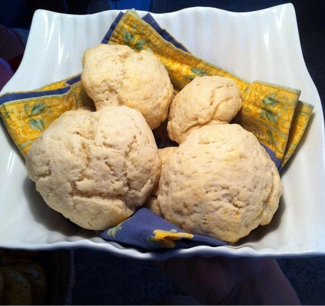 petits pains à poudre à pâte