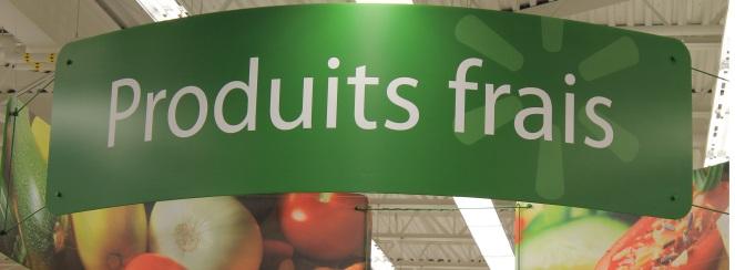 Produits frais Walmart