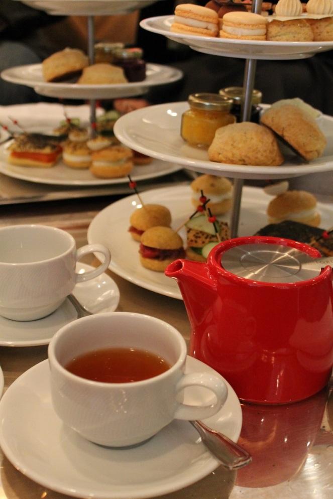 Thé à la Mode - plateau
