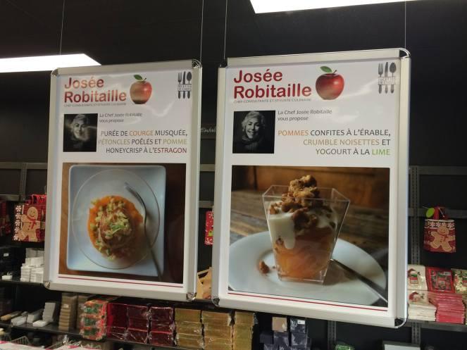Fiches recettes Josée Robitaille - Emballages de la Capitale