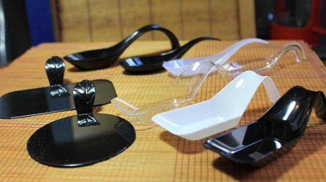 Mises en bouche plastique - Les Emballages de la Capitale