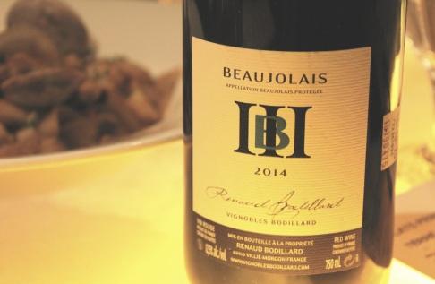 Beaujolais Renaud Boudillard RESTAURANT VERSA - Hungry Rachel