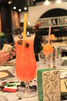 Tequila Lounge - Fresa colada - Hungry Rachel