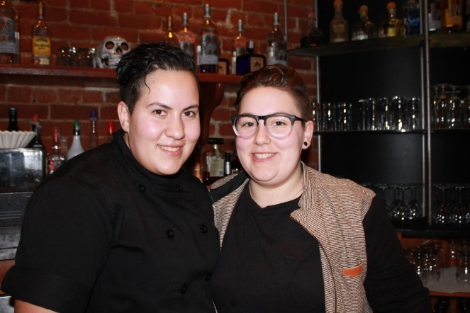 Tequila Lounge - les propriétaires Ariane Robitaille et Carolina Barona Escobar - Hungry Rachel