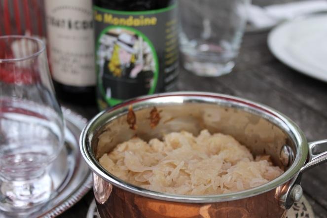 Dégustation de saucisses BBQ et bières - choucroute - Hungry Rachel