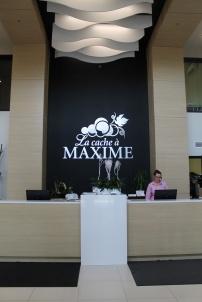 La Cache à Maxime - Réception Hôtel C - Hungry Rachel