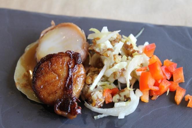 Restaurant L'Intimiste Pétoncle - Hungry Rachel