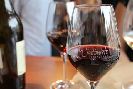 Restaurant L'Intimiste Pedroncelli verre - Hungry Rachel