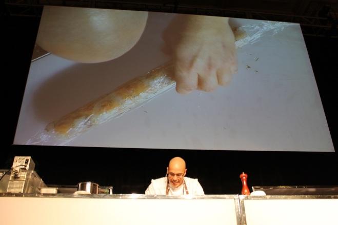 Foodcamp 2017 - Hugo St-Jacques Zeste Télé Saucisse de poisson