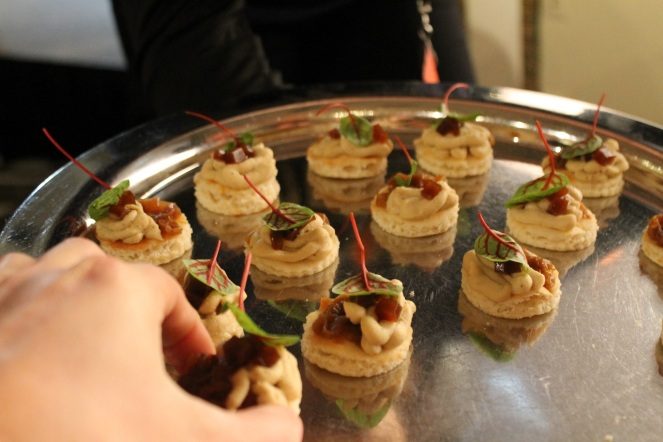 Foodcamp 2017 - Mathieu Cloutier Kitchen Galerie parfait de foie gras