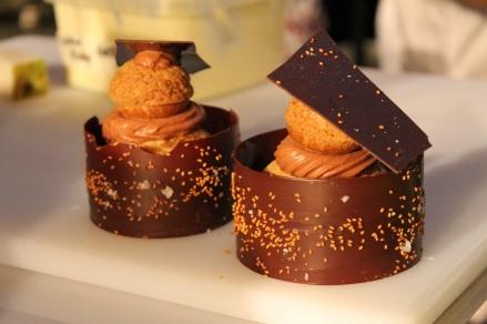 Foodcamp 2017 - Stéphanie Labelle Pâtisserie Rhubarbe chou au chocolat 2