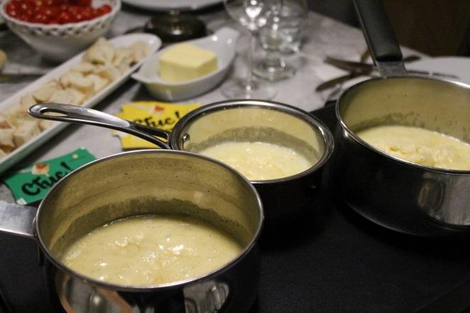 fondues au fromage