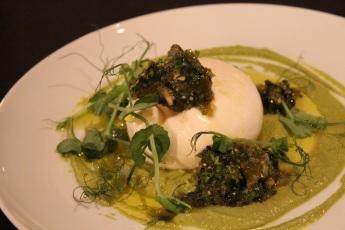 Tapas et Liège - Burratas chimichurri crème de poblano- Hungry Rachel