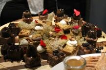 Tapas et Liège - tarte citrouille et gâteau fromage chocolat - Hungry Rachel