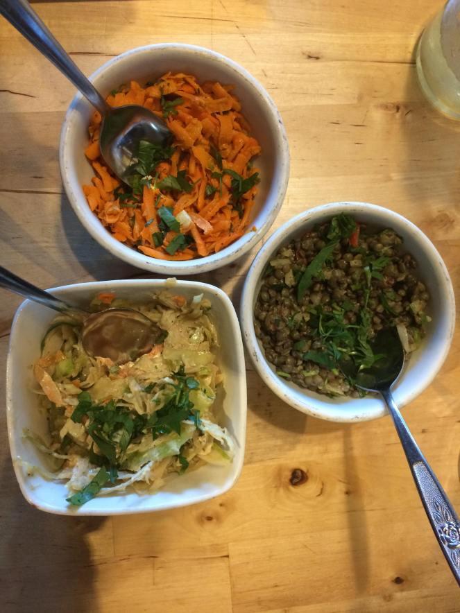 Le Pied Bleu - salades - Hungry Rachel